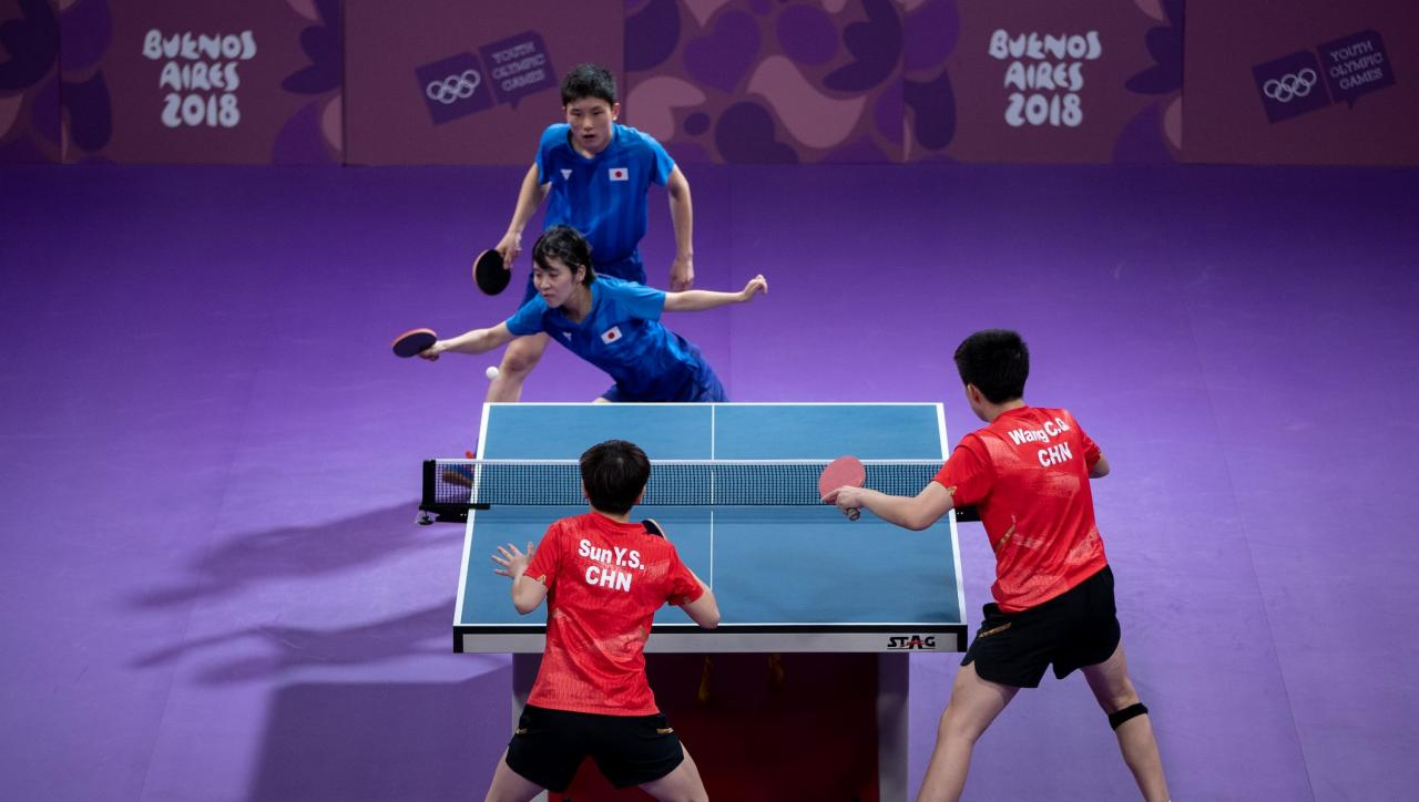 China complete table tennis clean sweep - Olympic News