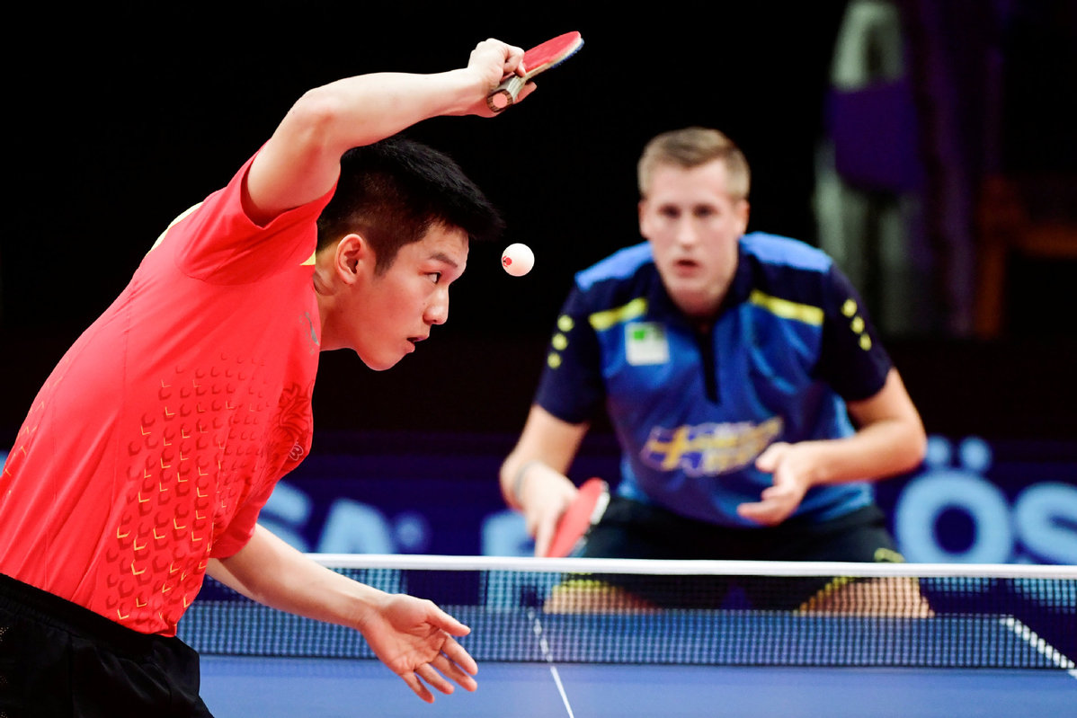 New rubber colors for table tennis rackets expected after Tokyo Olympics - Chinadaily.com.cn