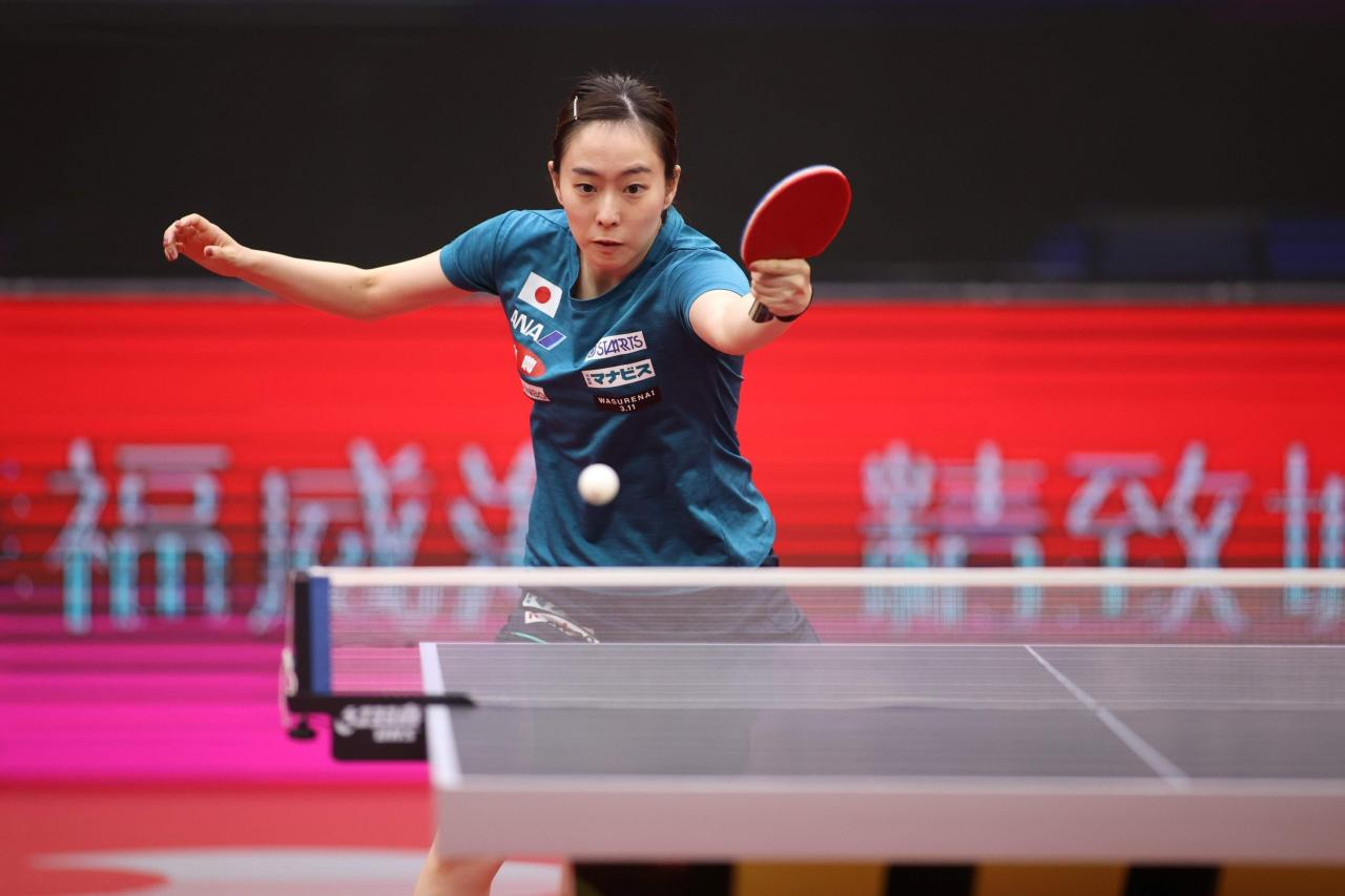 International table tennis returns after 8 months with Women's World Cup | Daily Sabah